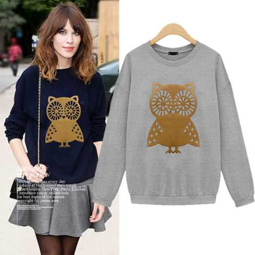 1145X-XXXL-XXXXL-XXXXXL-Plus-Size-2015-New-Autumn-Fashion-European-Long-Sleeve-OWL-Head-Print