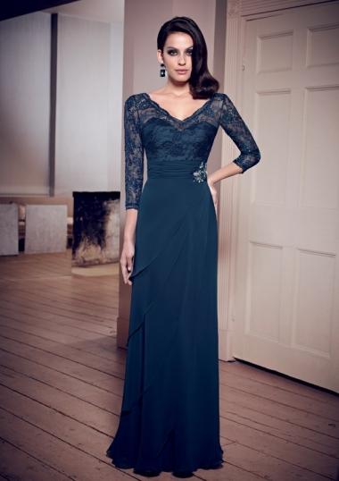 http://www.rosanovias.com.au/elegant-floorlength-the-34-lace-of-chiffon-length-ruching-crystal-detailing-mother-vneck-aline-bride-dresses-p-1611.html